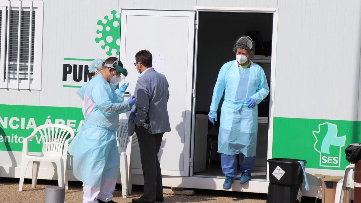 Extremadura ha notificado este 13 de mayo 66 casos positivos de covid