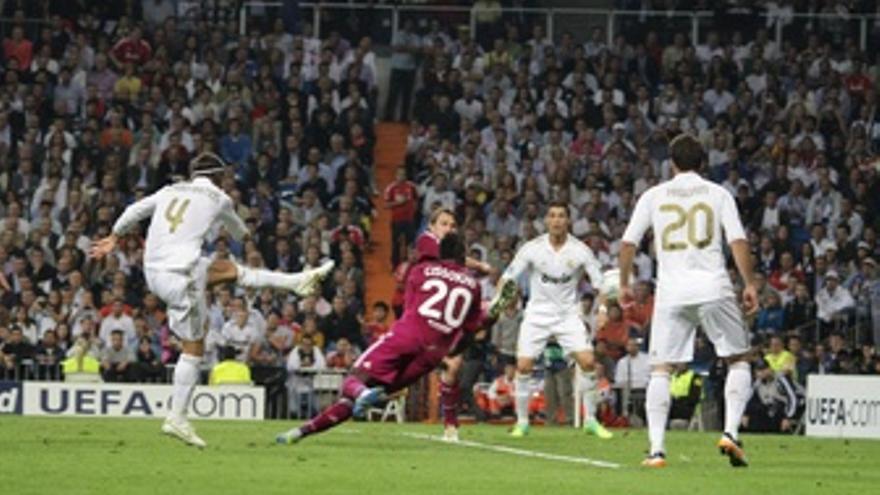 Sergio Ramos Gol Real Madrid-Olimpic De Lyon