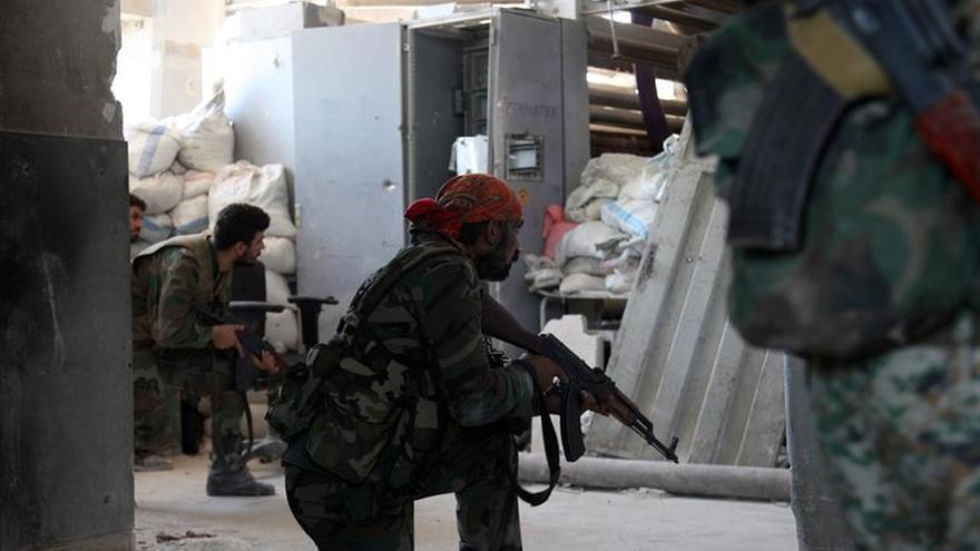 El Ejército sirio recupera el control de un área estratégica del norte de Alepo