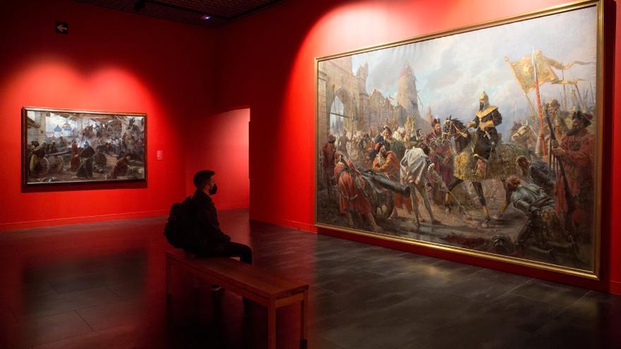 Rusia muestra a través del arte en Málaga su historia jalonada de guerras