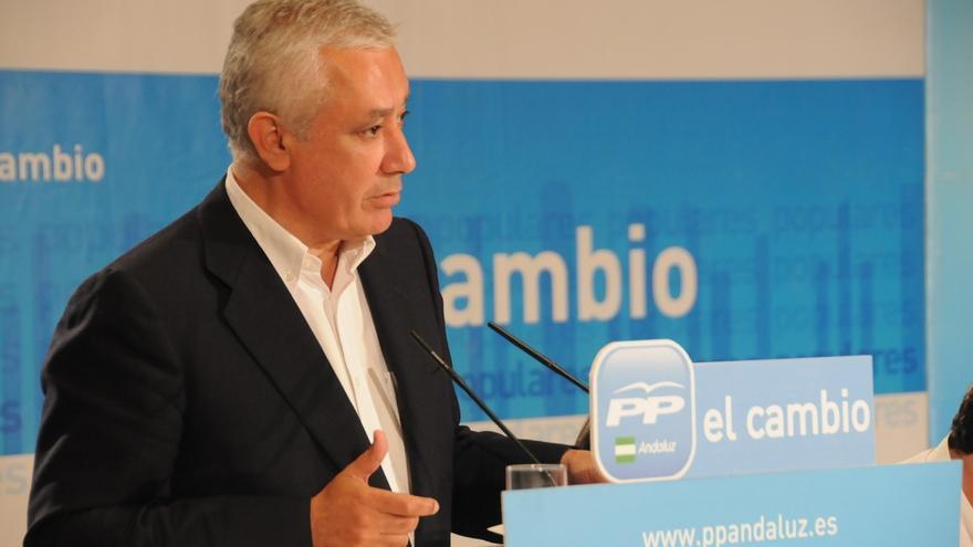 """Arenas asegura que en la Interparlamentaria """"no se va a hablar"""" sobre el candidato del PP-A a la Junta"""