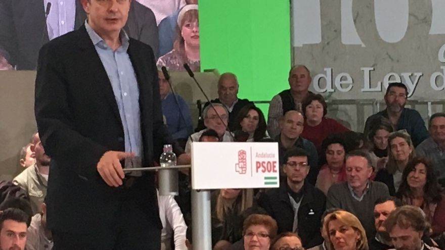 """José Luis Zapatero: """"La fuerza del PSOE y de ganar la representa Susana Díaz"""""""