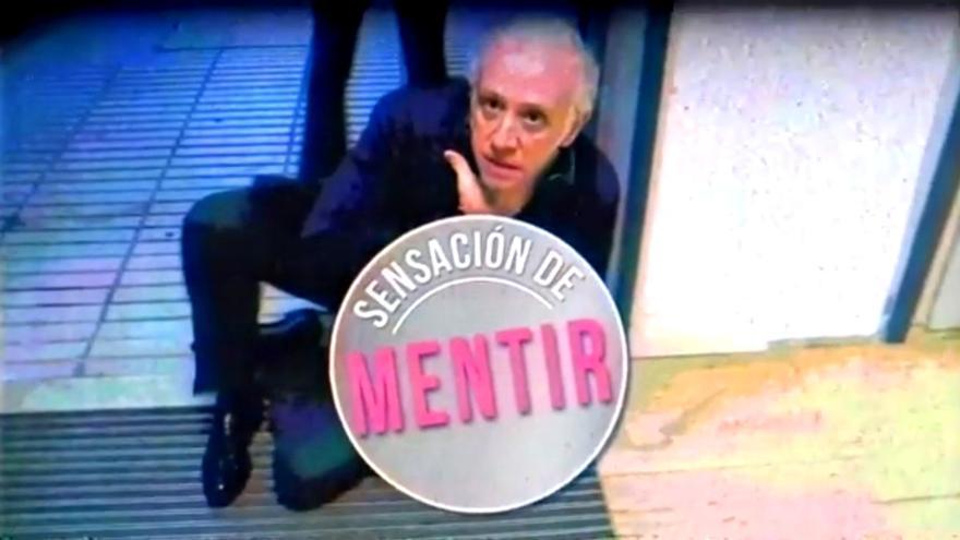 Eduardo Inda, en la cabecera de 'Sensación de mentir'