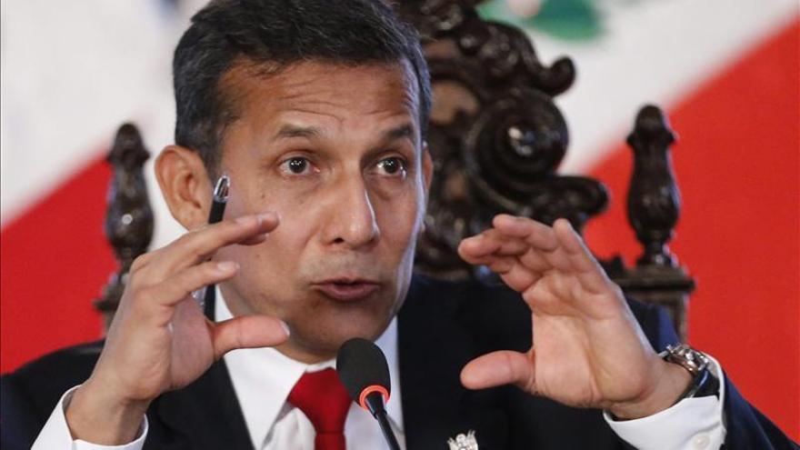 Humala asegura que su Gobierno no ampara a ningún involucrado en corrupción