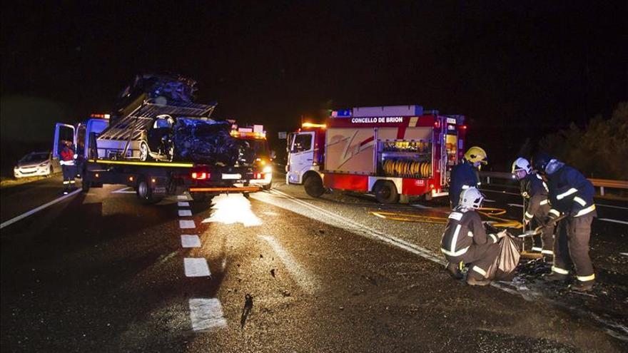Cuatro fallecidos en un accidente de tráfico en el municipio coruñés de Rois