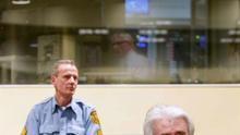El exlíder serbobosnio Radovan Karadzic, en el Tribunal Penal Internacional para la antigua Yugoslavia.