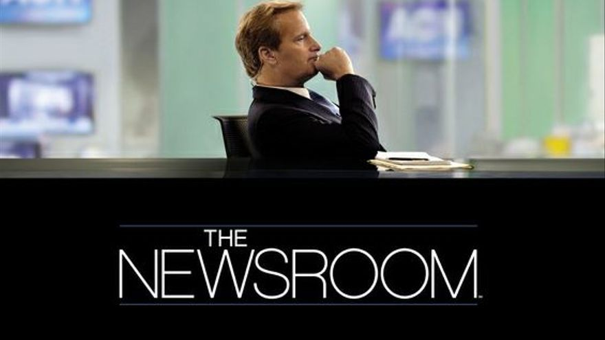 Cartel de la serie 'The Newsroom'.