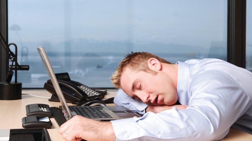 dormir trabajo
