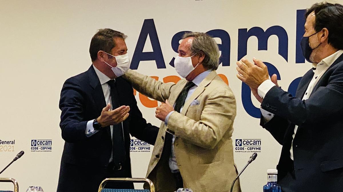 Ángel Nicolás, reelegido presidente de CECAM