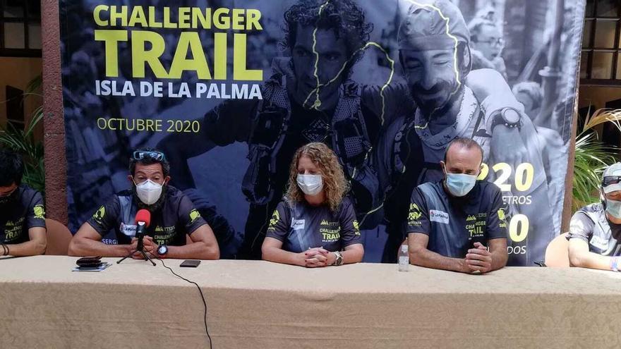 Los atletas Tito Parra y Sergio Luis Tejero se dan cita en la 'Challenger Trail La Palma'