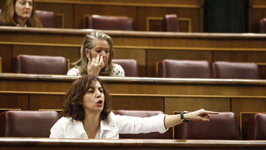 """Irene Lozano lamenta el """"ruido"""" sobre su posible expulsión de UPyD y defiende al partido pese al """"bache"""" que atraviesa"""