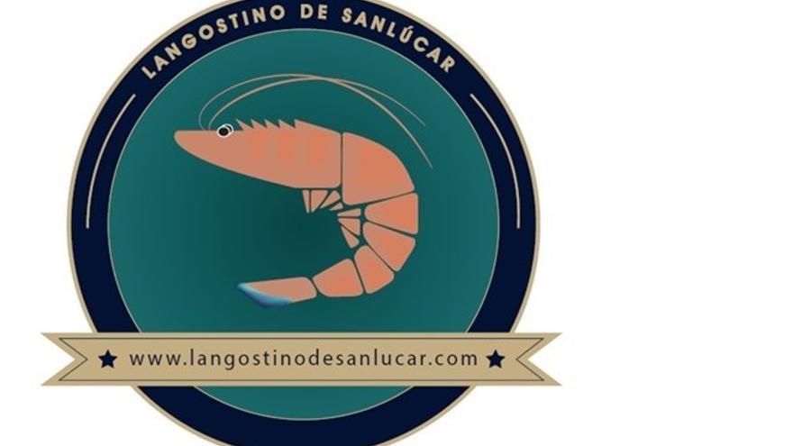 Imagen del logotipo que diferencia al langostino de Sanlúcar.
