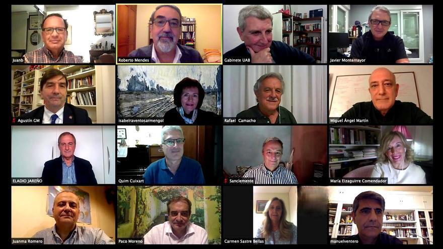 Los candidatos seleccionados por el Comité de Expertos, en una reunión virtual