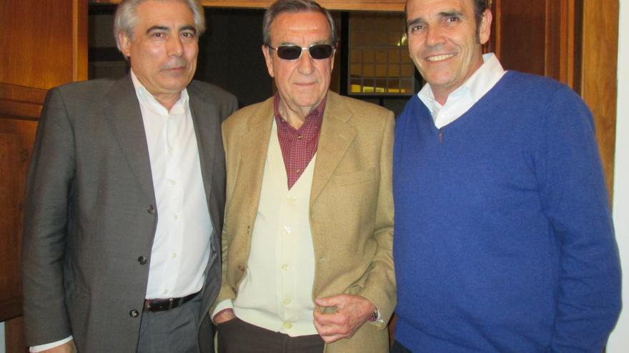 Mañoso, Caro y Daranas, este viernes en la Sala Centro. Foto: LUZ RODRÍGUEZ