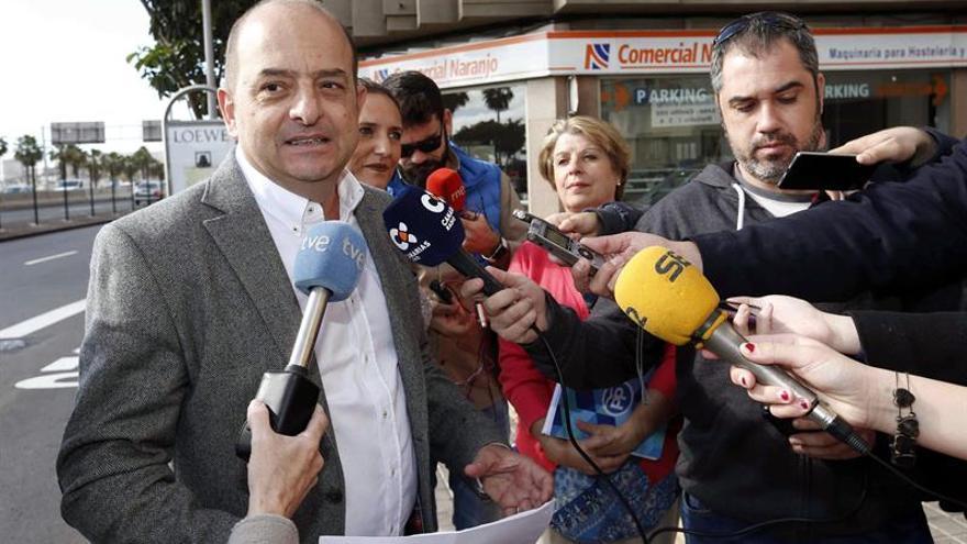 El portavoz del PP en el Ayuntamiento de Las Palmas de Gran Canaria, Juan José Cardona. EFE/Elvira Urquijo A.