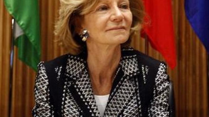 La ministra d'Economía, Elena Salgado.