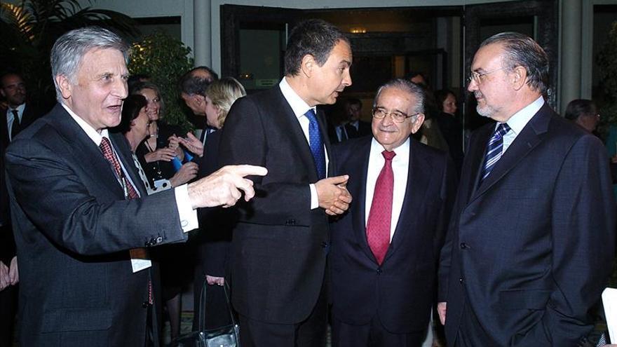 El BCE publica la correspondencia entre Trichet y Zapatero en 2011