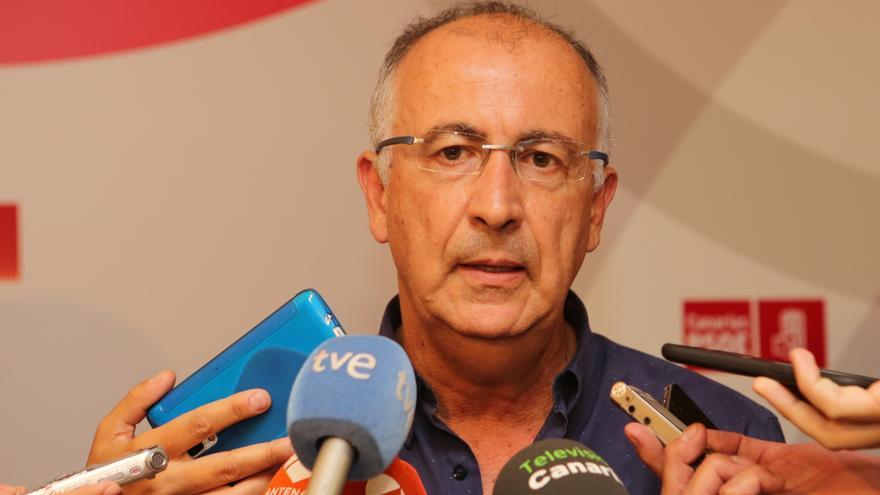 El vicesecretario general de los socialistas, Francisco Hernández Spínola (ALEJANDRO RAMOS)