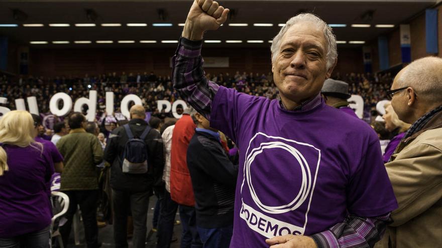 Acto Podemos Barcelona, público