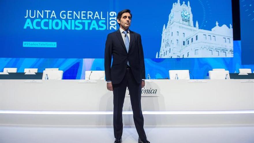 """Pallete confía en que la Bolsa reconozca el """"auténtico valor"""" de Telefónica"""
