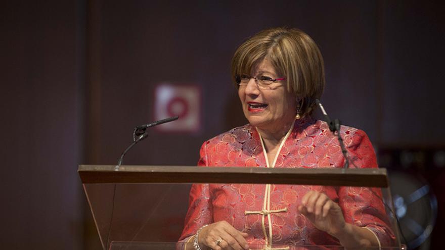 Rosario Berriel, ex vicerrectora de Internacionalización y Cooperación de la Universidad de Las Palmas de Gran Canaria