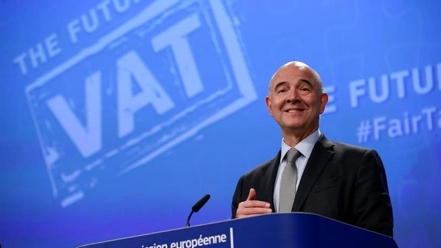 Moscovici insta a reformar la eurozona en un acto en Berlín