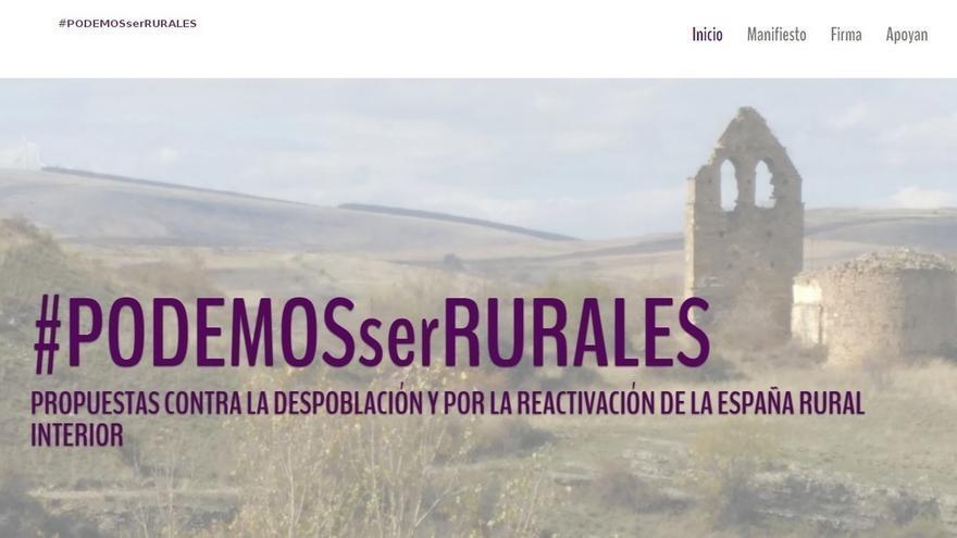 """Militantes de Podemos de la """"España rural"""" piden atención en Vistalegre II y representación en la nueva dirección"""