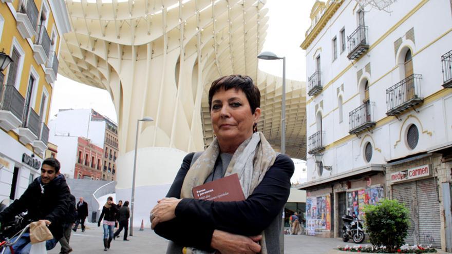Mercedes Gallizo, en Sevilla.