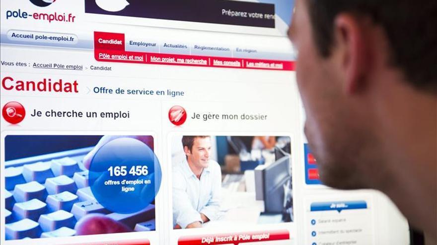 La tasa de paro se situó en el 10 por ciento en Francia a finales de 2014