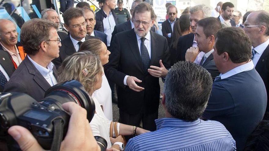 Rajoy se reúne el lunes en el Congreso con los diputados del PP