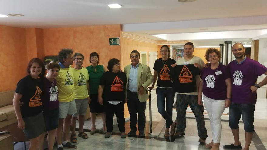 La Plataforma Cuenca del Segura Libre de Fracking (PCSLF) en la Asamblea Regional