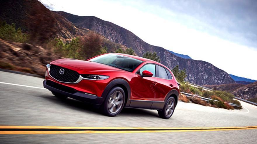 El diseño del nuevo Mazda CX-30 se inspira en el arte tradicional japonés.