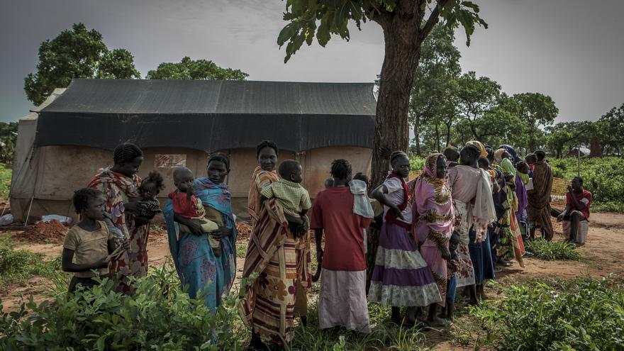 Vacunación en Yida, Sudán del Sur. Foto 5 © Yann Libessart/MSF