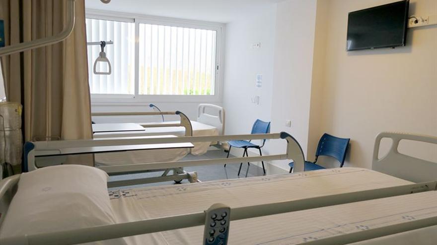 Camas de ingreso del Hospital del Sur de Tenerife