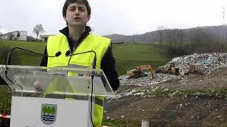 Iñaki Errazkin, diputado foral de Medio Ambiente de Gipuzkoa.