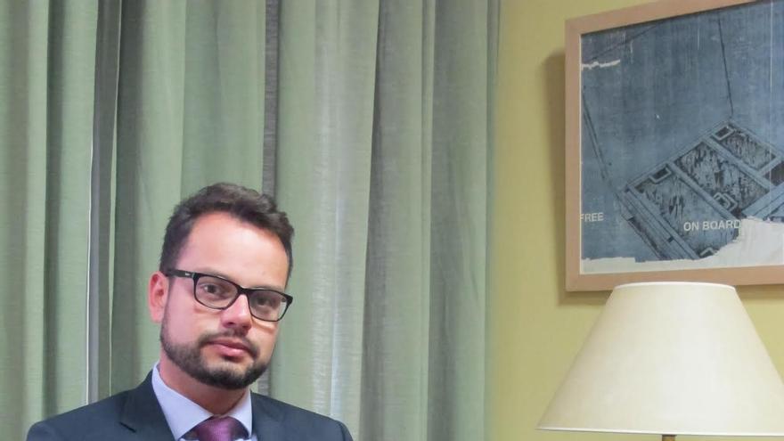 Jordi Pérez, consejero de Promoción Económica, Comercio y Empleo del Cabildo de La Palma.