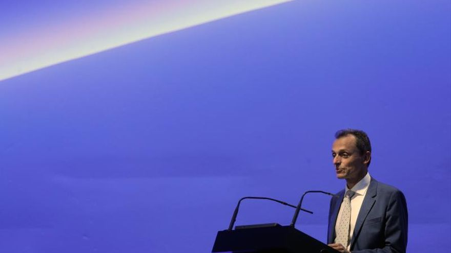El ministro de Ciencia, Innovación y Universidades en funciones, Pedro Duque.