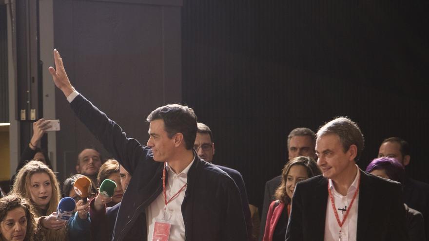 Zapatero avisa al PSOE de que para ganar necesita la máxima unidad interna