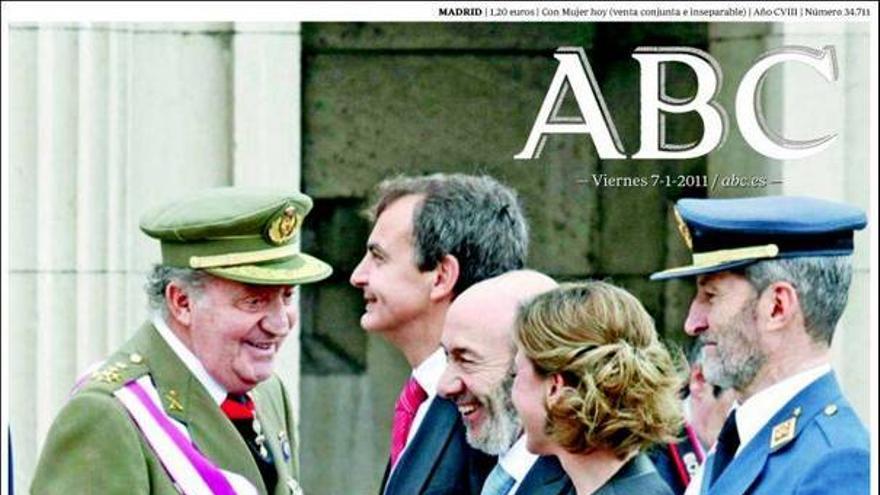 De las portadas del día (07/01/2011) #6