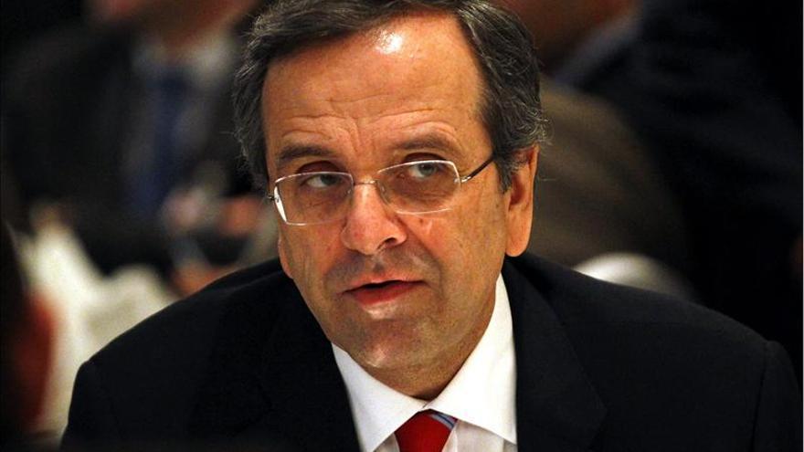 Grecia podría volver a los mercados el año que viene, asegura Samarás