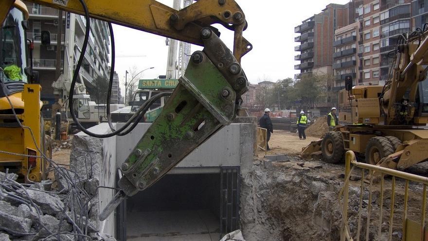 Sacyr, FCC y OHL construyen miles de obras civiles. EUROPA PRESS