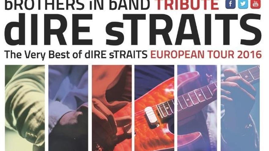 'bROTHERS iN bAND' interpretará los grandes éxitos de 'Dire Straits' este sábado en Baluarte