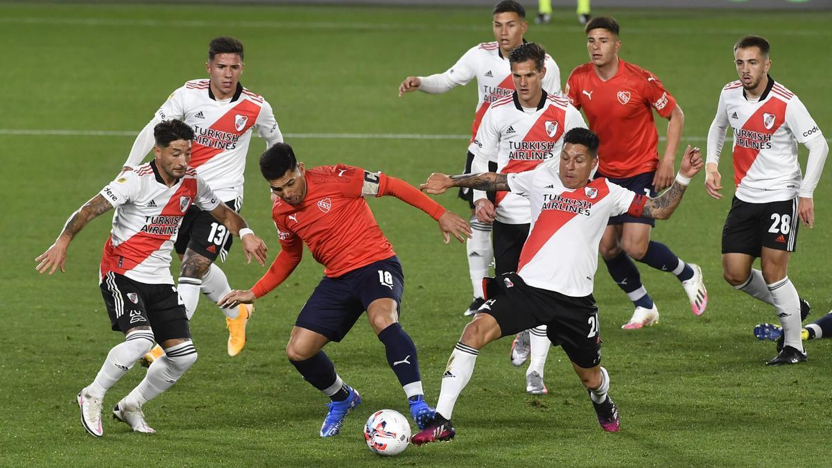 River empató 1-1 con Independiente