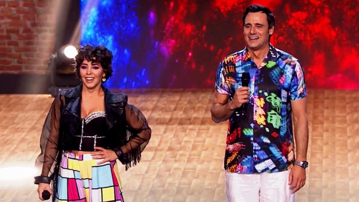 Sandra Cervera y Jon Aramendi bailaron en 'The Dancer'