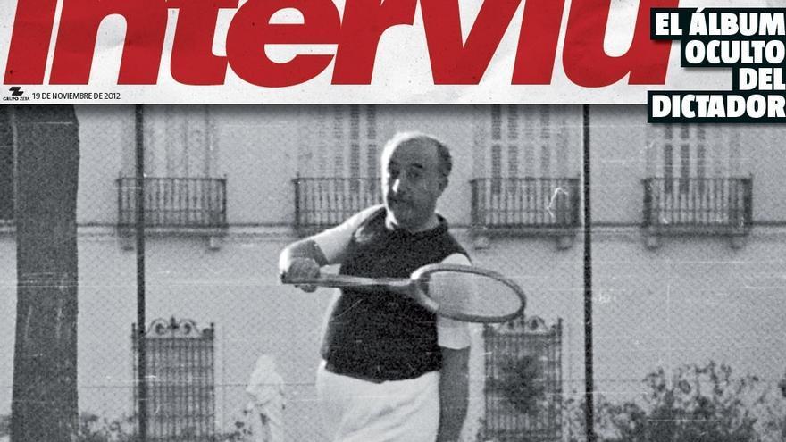 Una portada de Interviú sobre Franco