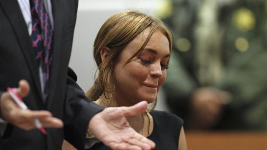 Lindsay Lohan ingresa en el centro Betty Ford para iniciar su rehabilitación