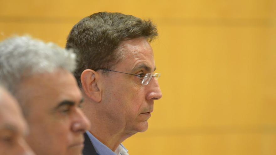 José Alberto González Reverón, en la vista oral de un juicio contra él, en una imagen de archivo