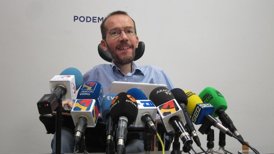Echenique respeta la visita de Otegi al Parlament de Cataluña pero recuerda que aún no ha pedido perdón por apoyar a ETA
