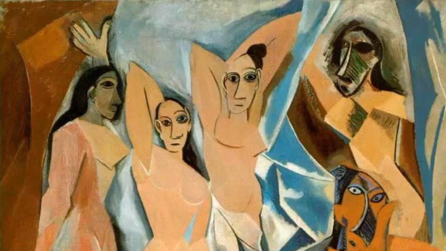 'Las señoritas de Avignon', de Pablo Picasso
