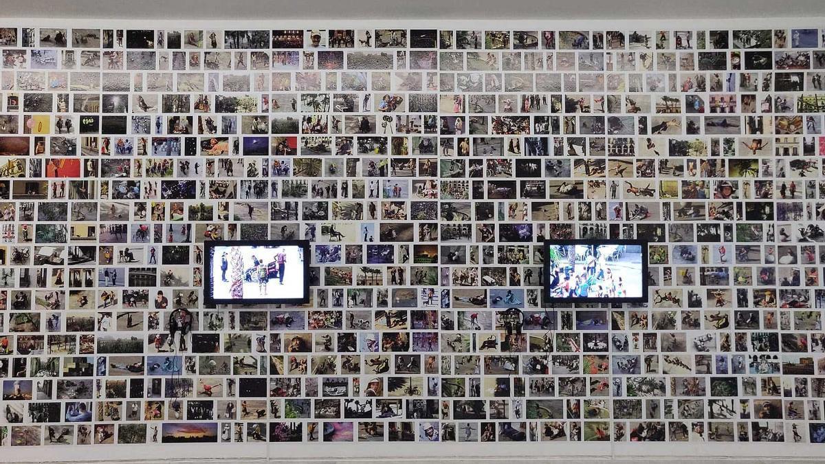 Exposición de Nazario en el CAAC